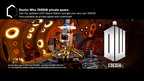 Doctor Who TARDIS Private Space Now Available.   (PRNewsFoto/Sony DADC New Media Solutions)