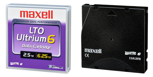 Maxell Announces Availability of LTO Ultrium 6 Data Cartridge With Expanded Storage Capacity to
