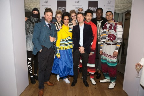 Christopher Bailey Chief Creative and Chief Executive Officer of Burberry Graduate Fashion Week designers (PRNewsFoto/Graduate Fashion Week) (PRNewsFoto/Graduate Fashion Week)