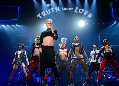 P!NK KICKS OFF THE TRUTH ABOUT LOVE  WORLD TOUR WITH SOLD-OUT OPENING NIGHT PERFORMANCE AT U.S. AIRWAYS CENTER IN PHOENIX.  (PRNewsFoto/Live Nation)