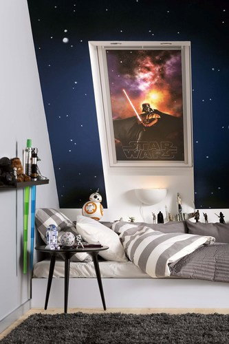 VELUX Group and Disney join forces in Star Warrs(TM) collaboration for children's room (PRNewsFoto/VELUX Group) (PRNewsFoto/VELUX Group)