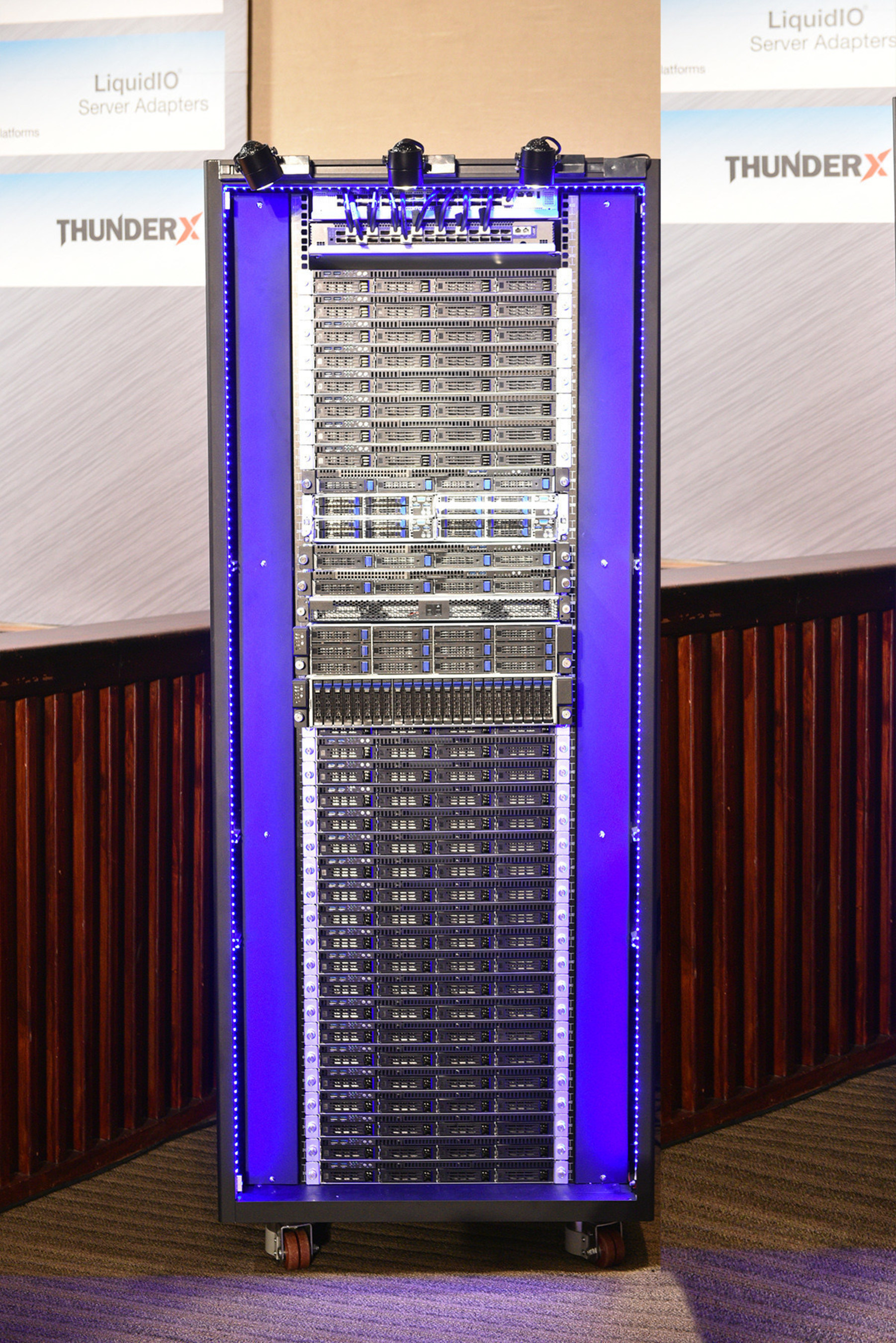 Cavium Showcases The CloudScale Rack