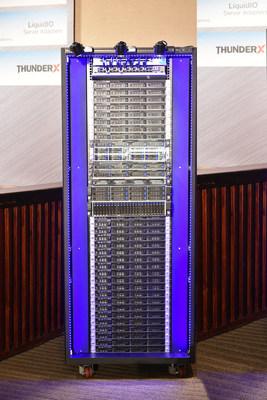 Cavium CloudScale Rack(TM)