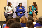 "During The Black Women's Agenda, Inc.'s 38th Annual Symposium, actress and activist Holly Robinson Peete (right) moderated ""Because We Care: The New Financial Normal,"" a workshop devoted to the financial impact of caregiving. Workshop participants included Dr. Katherine Y. Brown (left), a noted health, wellness and women's empowerment advocate, and T. Diane Surgeon, a prominent eldercare legal expert and founder of the Eldercare Resource Centerin North Carolina."