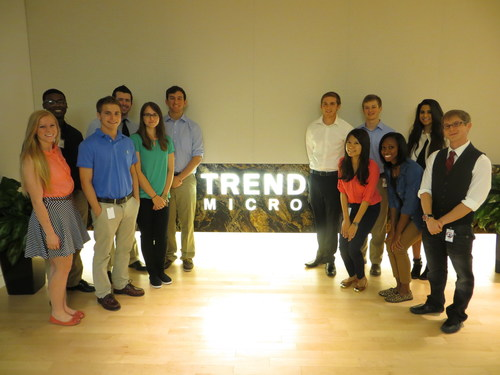 The 2014 TrendTerns (PRNewsFoto/Trend Micro Incorporated)