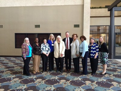 Members of the Women in Municipal Government constituency group at their annual meeting in Saint Paul. Women in Municipal Government is a constituency group of the National League of Cities (NLC), a Washington, D.C.-based advocacy organization.
