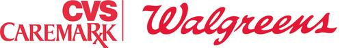 CVS Caremark Corporation and Walgreens logo.  (PRNewsFoto/CVS Caremark Corporation and Walgreens)