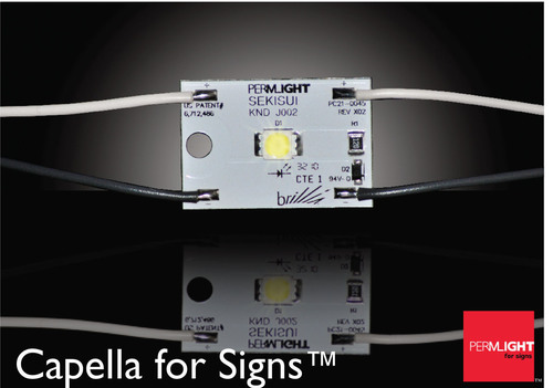 Permlight for Signs Unveils Capella, Offering Unprecedented High Brightness and Flexibility in a