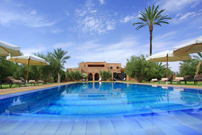 Villa Sekkaya in the recently launched destination of Marrakesh, Morocco is one of Luxury Retreats' over 2,000 villas which underwent its Quality Inspection Program.  (PRNewsFoto/Luxury Retreats)