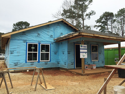 Thanks in part to a $45,500 Affordable Housing Program (AHP) grant from Federal Home Loan Bank of Dallas and Home Bank, Habitat for Humanity St. Tammany West is able to provide down payment assistance to homebuyers for seven homes, which are currently under construction.