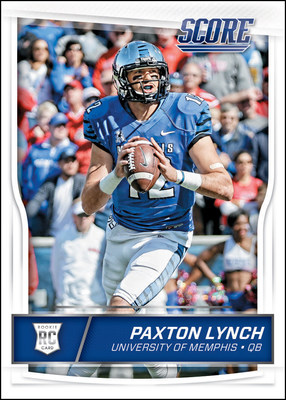 Panini America Signs Autograph, Trading Card Agreement With Former University Of Memphis Quarterback Paxton Lynch