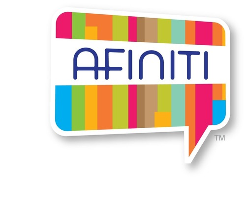 AFINITI, a platform to deliver targeted, brand-specific rewards and content to members of affinity groups, has been launched by InComm, a leading prepaid product and transaction services company, and Marketing Werks, a division of CROSSMARK and a leading engagement marketing agency.  AFINITI combines relevant information with secure, measurable offers that are instantly redeemable at checkout.   (PRNewsFoto/Marketing Werks)