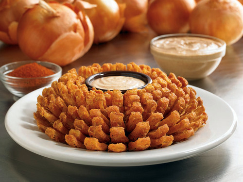 Outback Steakhouse Bloomin' Onion. (PRNewsFoto/Outback Steakhouse)