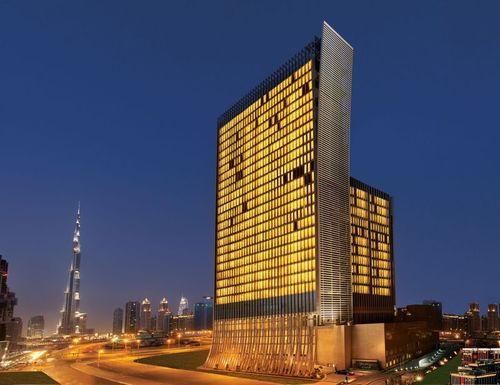 The Oberoi, Dubai - Exterior (PRNewsFoto/Oberoi Hotels and Resorts)