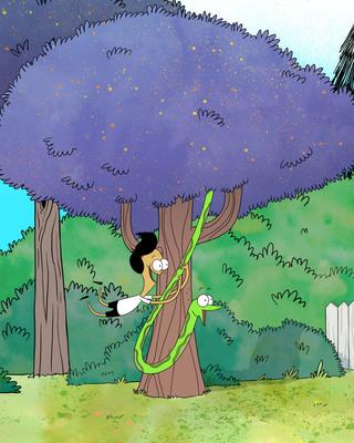 """Sanjay and Craig from Nickelodeon's """"Sanjay and Craig."""" (PRNewsFoto/Nickelodeon)"""