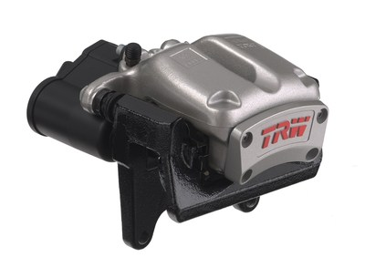 TRW's Electric Park Brake technology has recently launched with three Japanese automakers and the Company continues to be a leader in the technology which it pioneered in 2001. (PRNewsFoto/TRW Automotive Holdings Corp.)