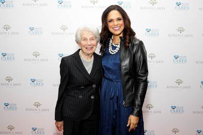 Roslyn S. Jaffe and Soledad O'Brien