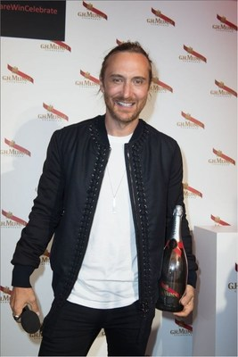 Mumm - David Guetta (PRNewsFoto/Maison Mumm) (PRNewsFoto/Maison Mumm)