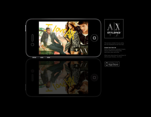 Armani Exchange Celebrates 20 Years of Style With the Launch of A|X STYLEPAD: The First Digital