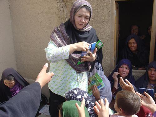 Afghan Leader Visits U.S. to Represent Afghan Women