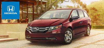 The 2015 Honda Odyssey is now available at Honda Manhattan. (PRNewsFoto/Honda Manhattan)