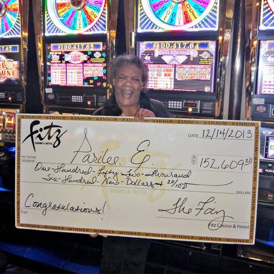 Parilee E. is Fitz Casino & Hotel, Tunica's Latest Big Winner!(PRNewsFoto/Fitz Casino & Hotel Tunica)