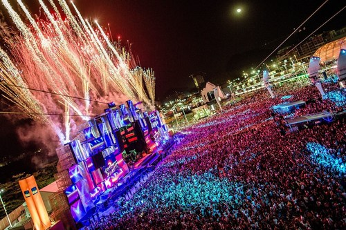 After Las Vegas and Rio de Janeiro, with more than 8.2 million people in 16 editions, and the biggest music ...