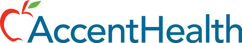 AccentHealth logo. (PRNewsFoto/AccentHealth) (PRNewsFoto/ACCENTHEALTH)
