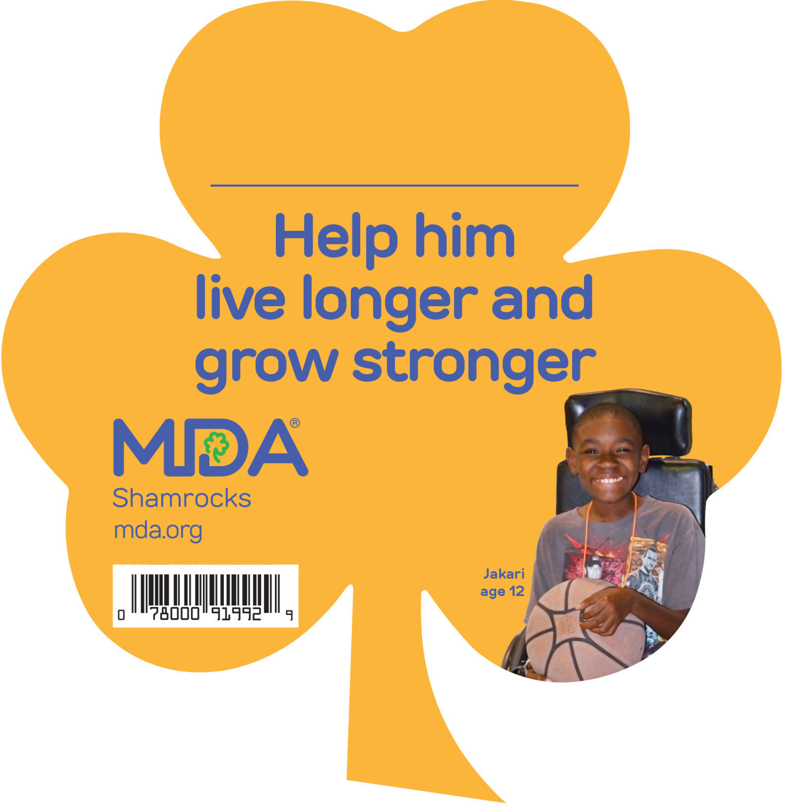 At retailers nationwide, customers and employees can help accelerate progress for individuals whose abilities to move are compromised by adding a paper Shamrock (pinup) to their purchase at checkout for just a $1, $5 or a larger contribution.