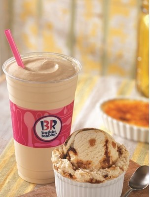 Baskin-Robbins Springs Into The Season With New April Flavor Of The Month, Whaddaya Say Creme Brulee, And Lineup Of Seasonal Ice Cream Flavors And Cakes