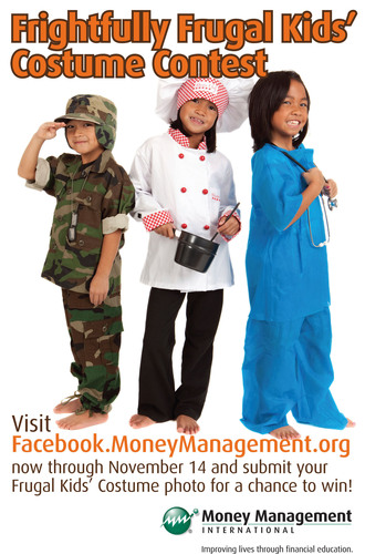 Frugal Kids' Costume Contest