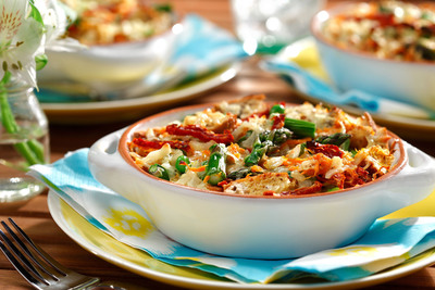 "Celebrate mom this Mother's Day and beyond with heart-smart brunch recipes by Ellie Krieger, M.S., R.D., host of the Cooking Channel's ""Healthy Appetite."" Her ""Mother's May the Healthy Way"" recipes, such as this Breakfast Strata Primavera, are all made with canola oil and found at www.canolainfo.org."