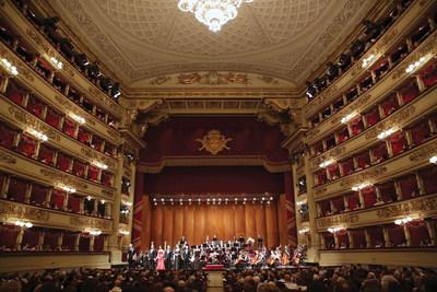 Accademia Teatro alla Scala (La Scala Theater Academy) soloists performing at La Scala Opera House, Milan, Italy.