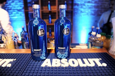 Absolut Vodka celebrates the return of the electric blue limited edition Absolut Electrik bottle by inspiring new social electricity this holiday season