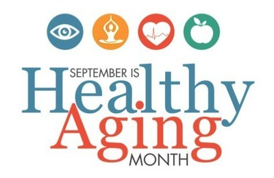 Image result for healthy aging month