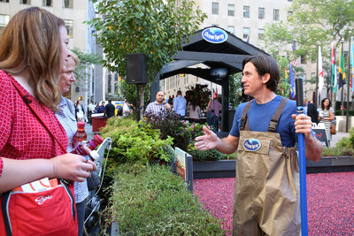 Ocean Spray, an official sponsor of the 2016 Forbes Under 30 Summit, will transform Boston's City Hall Plaza into a cranberry hub for fresh thinking October 16-19, 2016. The cooperative, comprised of 700 family farms, will fuel discussions around science, technology and innovation between summit attendees and multi-generation cranberry growers from inside its cranberry bog display.