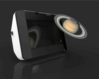 Holographic Optical Technologies' new Voxbox viewer, available via their Kickstarter campaign.