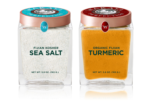 Wakaya Perfection Sea Salt and Turmeric (PRNewsFoto/Wakaya Perfection)