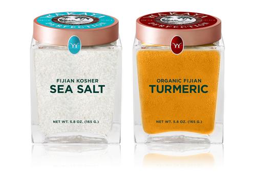 Wakaya Perfection Sea Salt and Turmeric (PRNewsFoto/Wakaya Perfection)