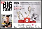 Gabriel & Co. Ranked Best-Performing Jewelry Brand by INSTORE Magazine
