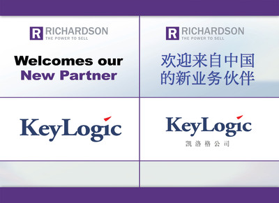 Richardson Partners with KeyLogic to Expand China Operations.  (PRNewsFoto/Richardson)