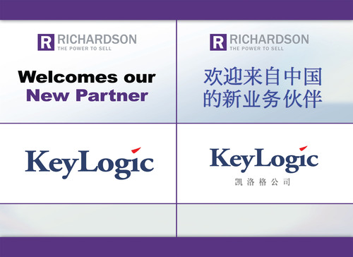 Richardson Partners with KeyLogic to Expand China Operations and to Better Serve Global Clients