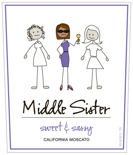 Canopy Management Wine Company Introduces Middle Sister Sweet and Sassy Moscato