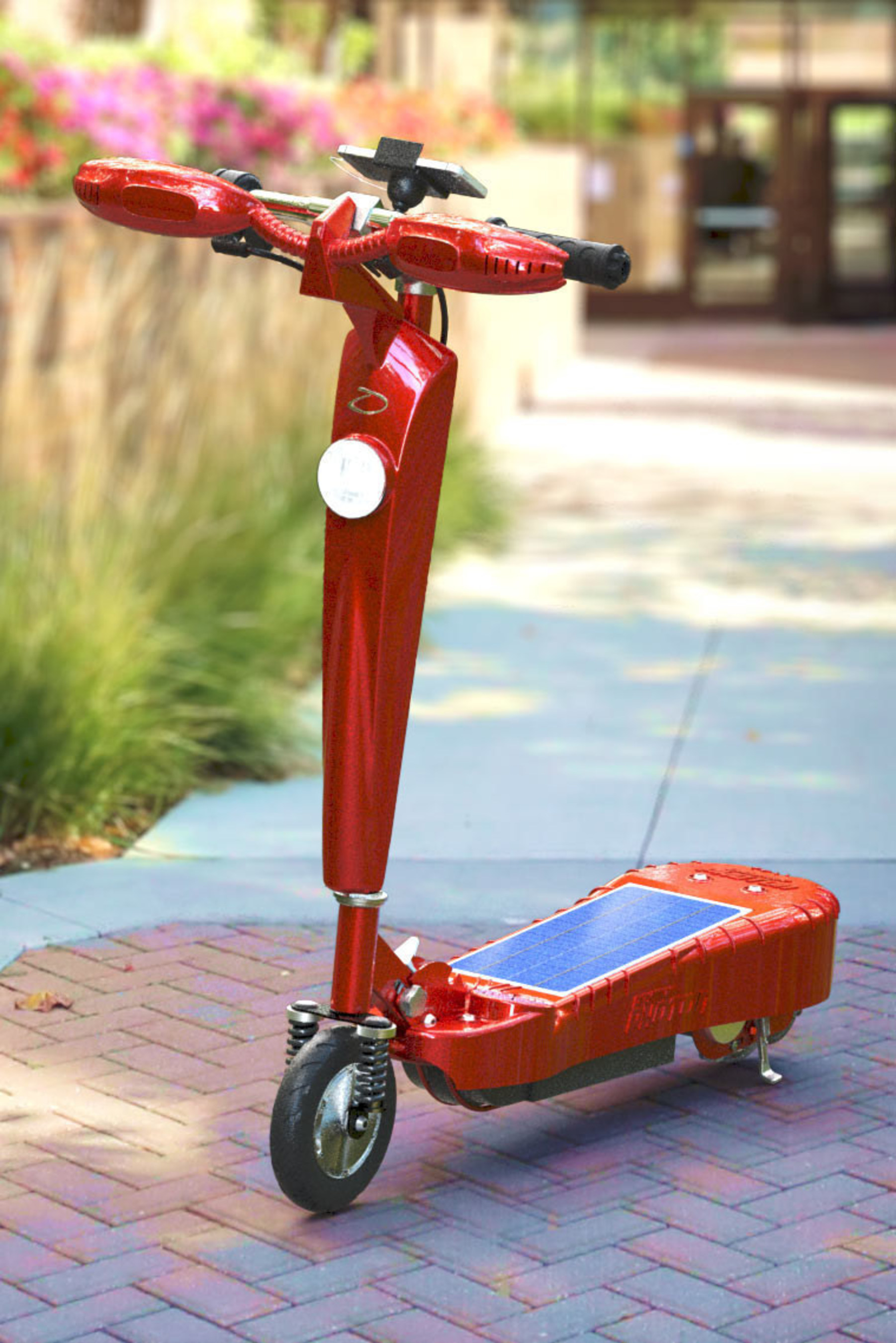 Daymak Photon Solar Scooter