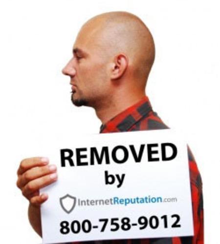 Mugshot Removal Service.  (PRNewsFoto/InternetReputation.com)