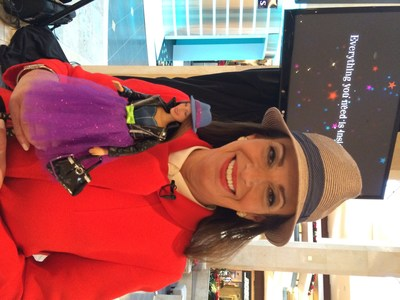 Jill Barad, Executive Chairman and CEO of Possibility Place with her fashionista AvaStar.