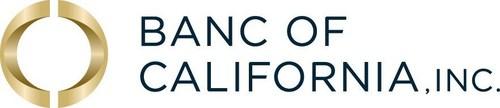 Banc of California Logo. (PRNewsFoto/Banc of California) (PRNewsFoto/Banc of California) (PRNewsFoto/Banc of California)