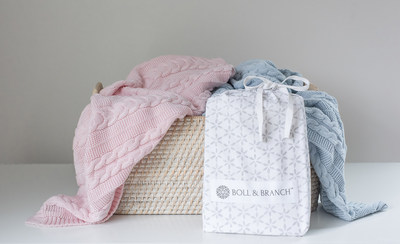 Boll & Branch launches line of organic baby products.