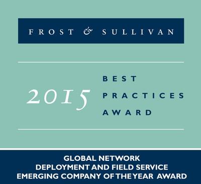 VeEx receives Frost & Sullivan Award! (PRNewsFoto/Frost & Sullivan)