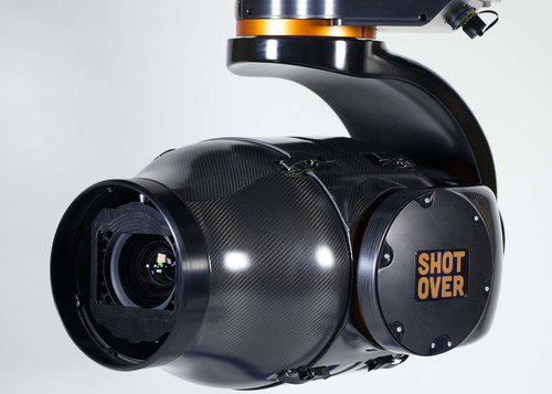 SHOTOVER Launches Broadcast and Motion Picture Industry's Most Versatile Aerial Camera System, the SHOTOVER F1, at IBC 2013. Stop by and see it at the SHOTOVER Booth, Hall 11.A69 at IBC September 13- 17, 2013. (PRNewsFoto/SHOTOVER) (PRNewsFoto/SHOTOVER)